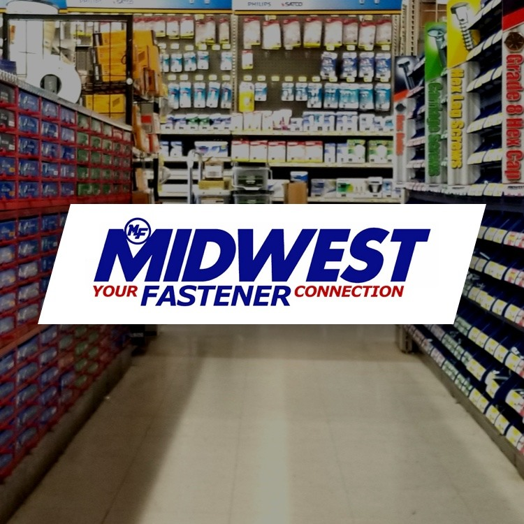 Midwest Fasteners - Your Fastener Connection with store fastener aisle in the background