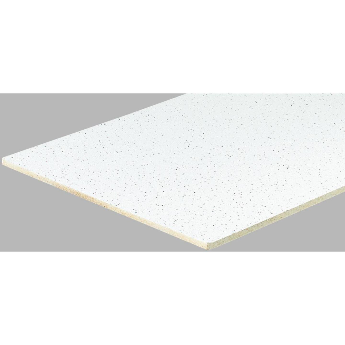 Radar Fissured 2 Ft. x 2 Ft. White Mineral Fiber Square Edge Suspended Ceiling Tile (16-Count) Image 1