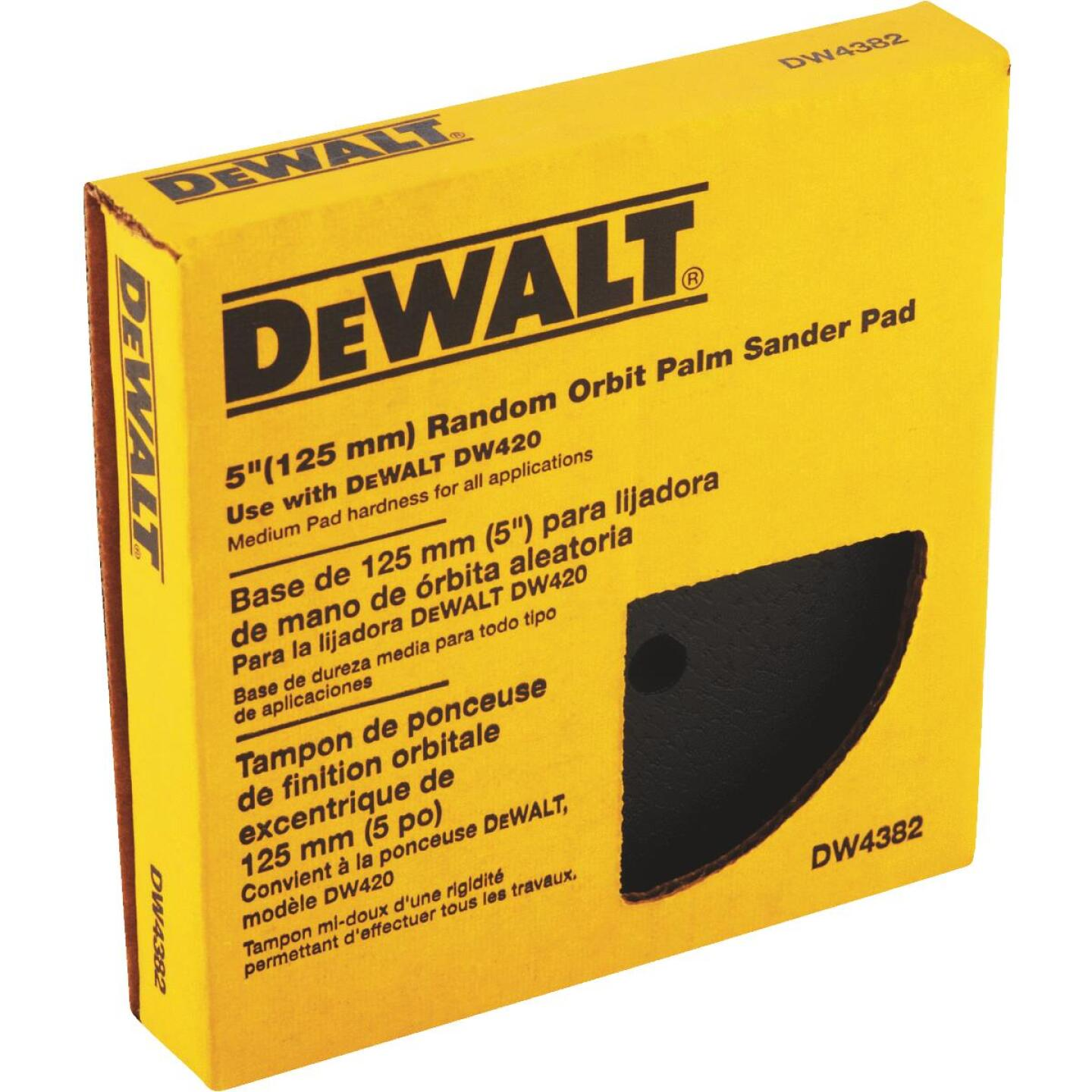 DeWalt PSA 5 In. Sanding Disc Backing Pad Image 4
