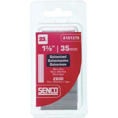 Senco 23-Gauge Galvanized Pin Nail, 1-3/8 In. (2600 Ct.)