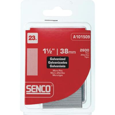Senco 23-Gauge Galvanized Pin Nail, 1-1/2 In. (2600 Ct.)