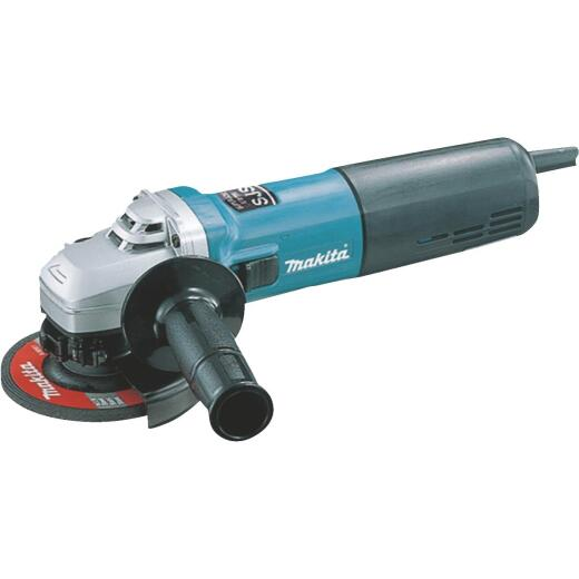 Makita 4-1/2 In. 12-Amp SJS High-Power Angle Grinder