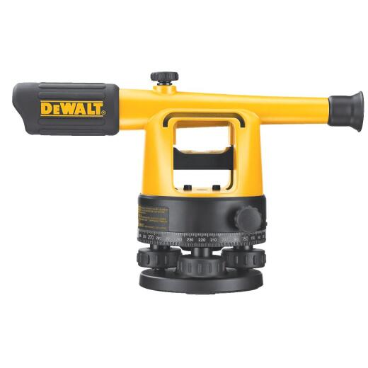 Dewalt 20x Magnifying Manual Sight Level