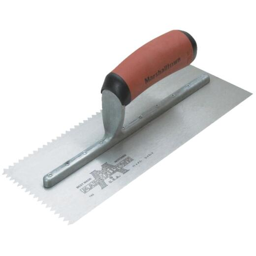 Marshalltown 3/16 In. V-Notched Trowel w/DuraSoft Handle