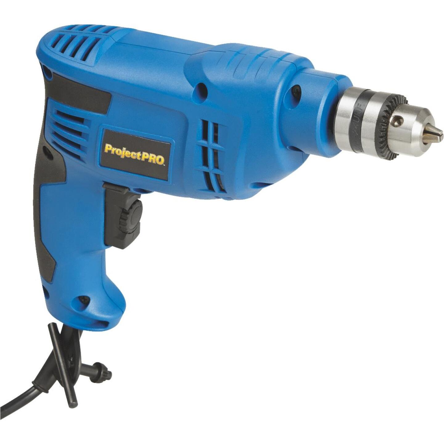 Project Pro 3/8 In. 4.2-Amp Keyed Electric Drill Image 1
