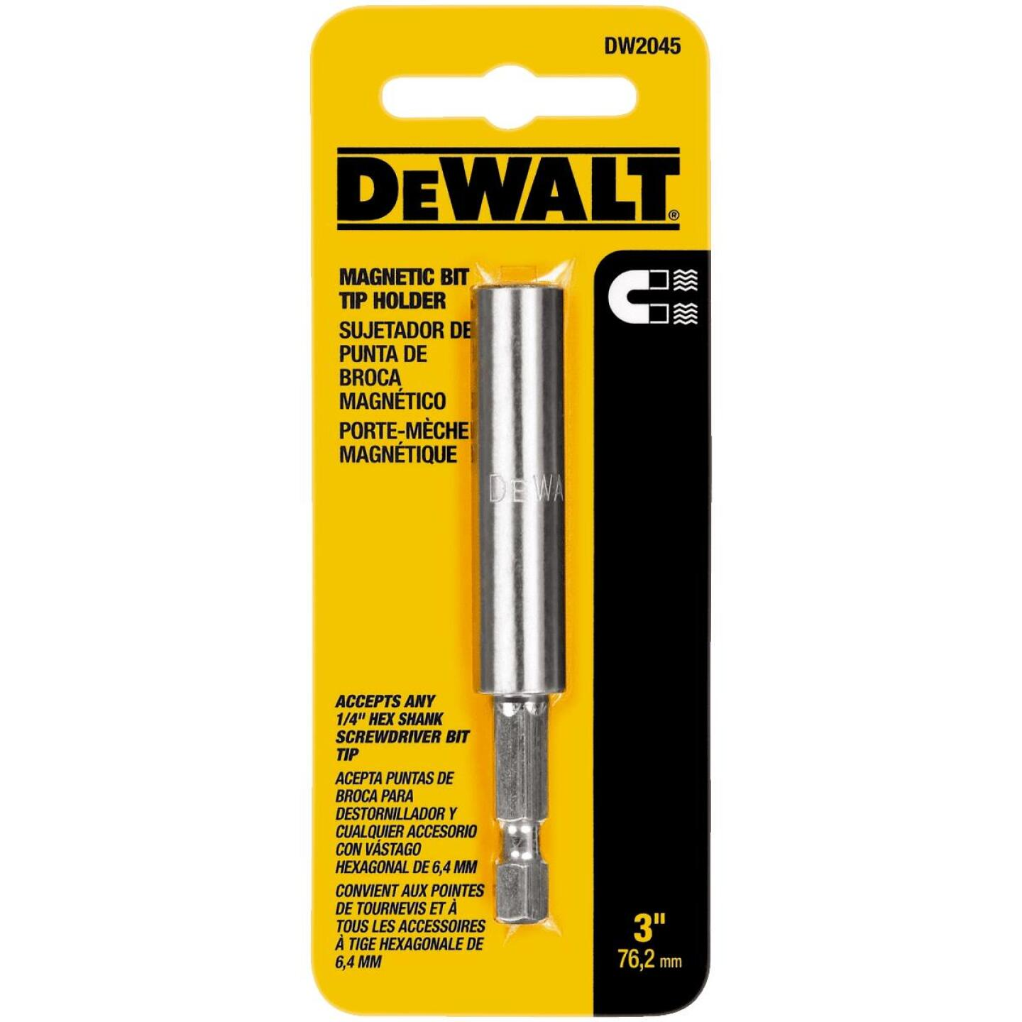 DeWalt 3 In. Pivoting Bit Holder Image 2
