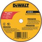 DeWalt HP Type 1 4 In. x 1/16 In. x 1/4 In. Metal/Stainless Cut-Off Wheel Image 1