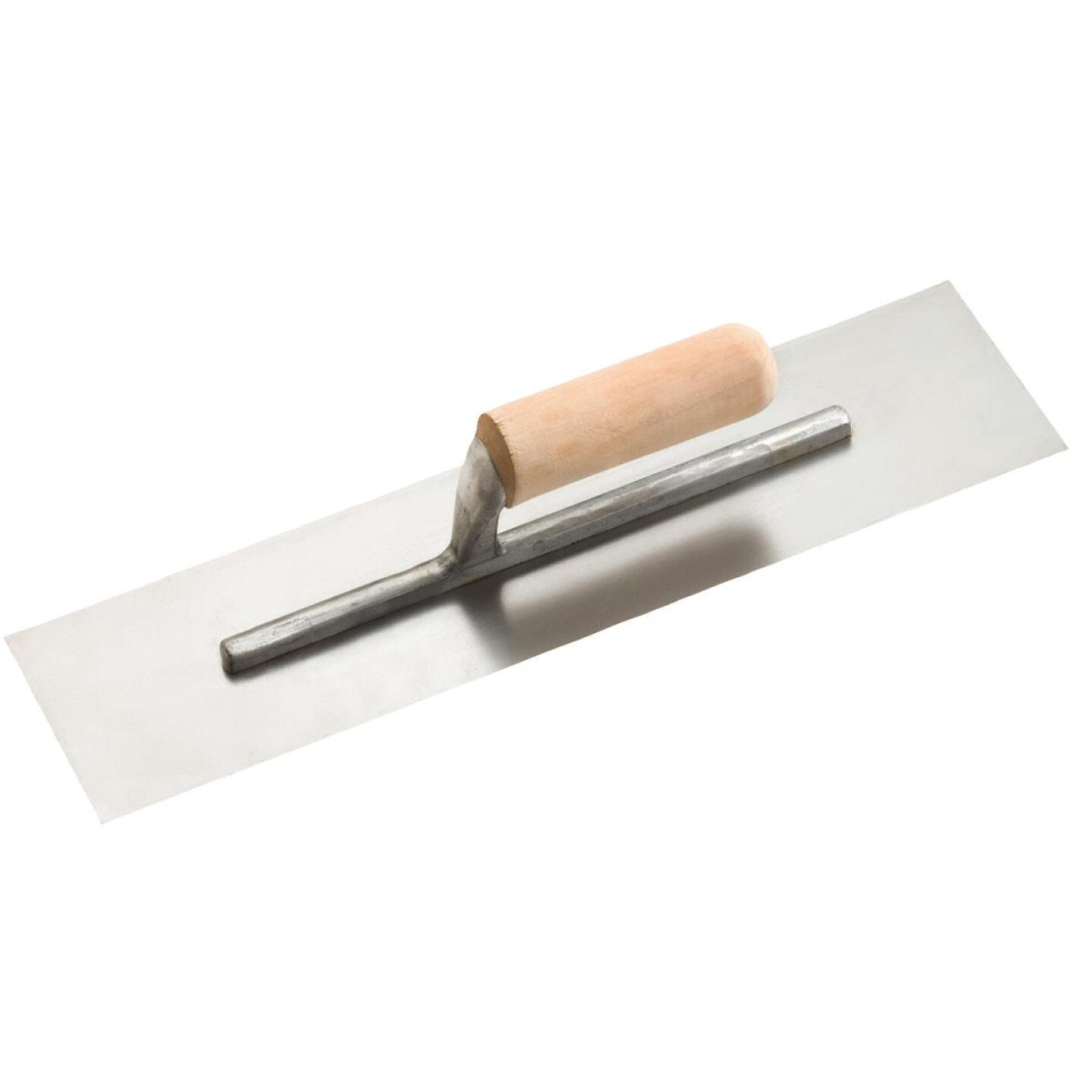 Do it 4 In. x 16 In. Finishing Trowel with Basswood Handle Image 1