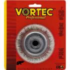 Weiler Vortec 3 In. Crimped 0.014 In. Angle Grinder Wire Brush Image 1