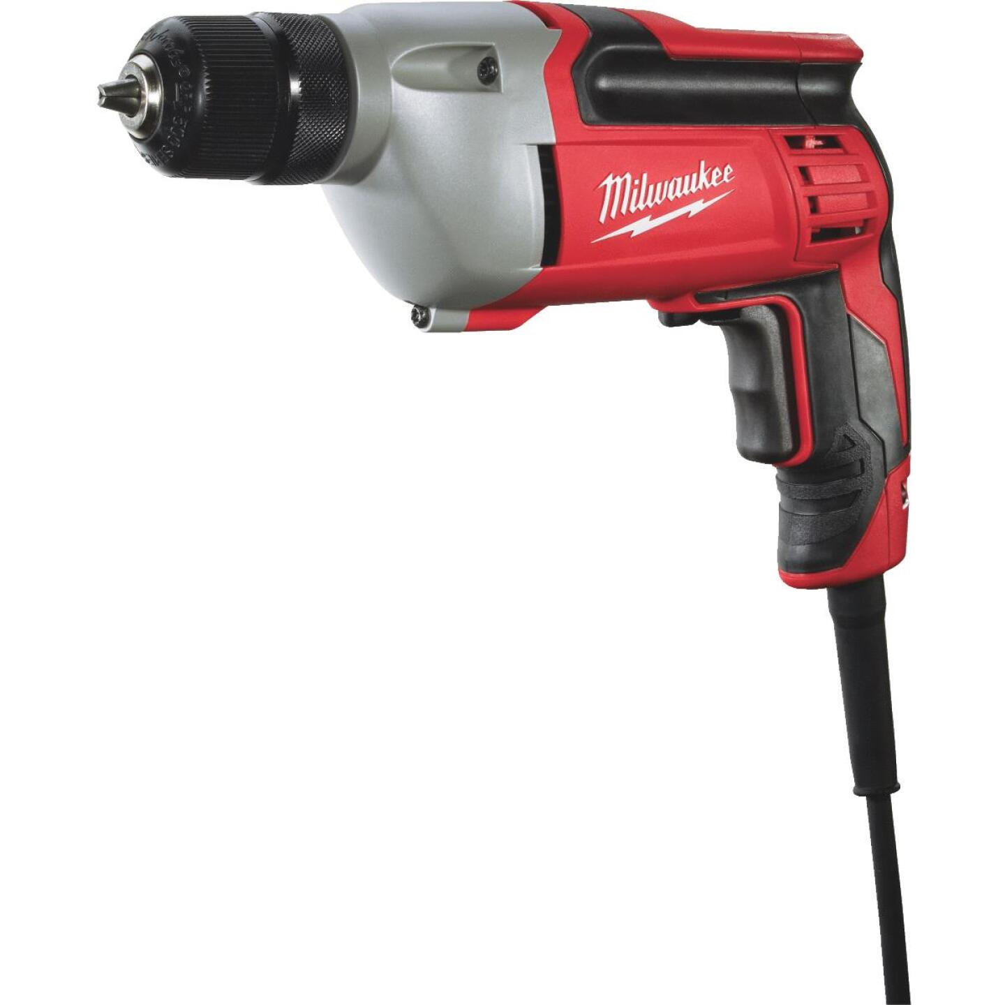 Milwaukee 3/8 In. 8-Amp Keyless Electric Drill Image 1