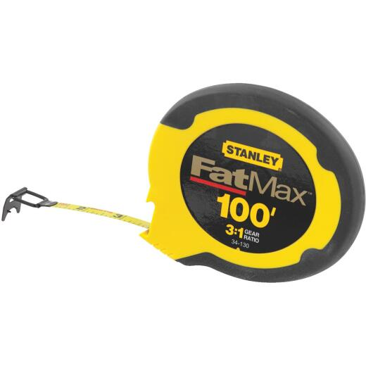 Stanley FatMax 100 Ft. Steel Closed Case Reel Tape