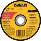 DeWalt HP Type 1 6 In. x 0.045 In. x 7/8 In. Metal/Stainless Cut-Off Wheel Image 1