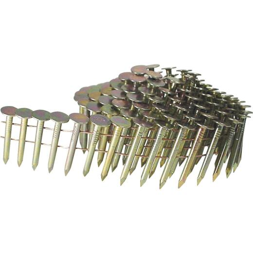 Grip-Rite 15 Degree Wire Weld Electrogalvanized Coil Roofing Nail, 1-1/2 In. (7200 Ct.)