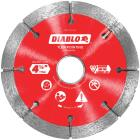 Diablo 4-1/2 In. Tuck Point Rim Dry/Wet Diamond Blade Image 1