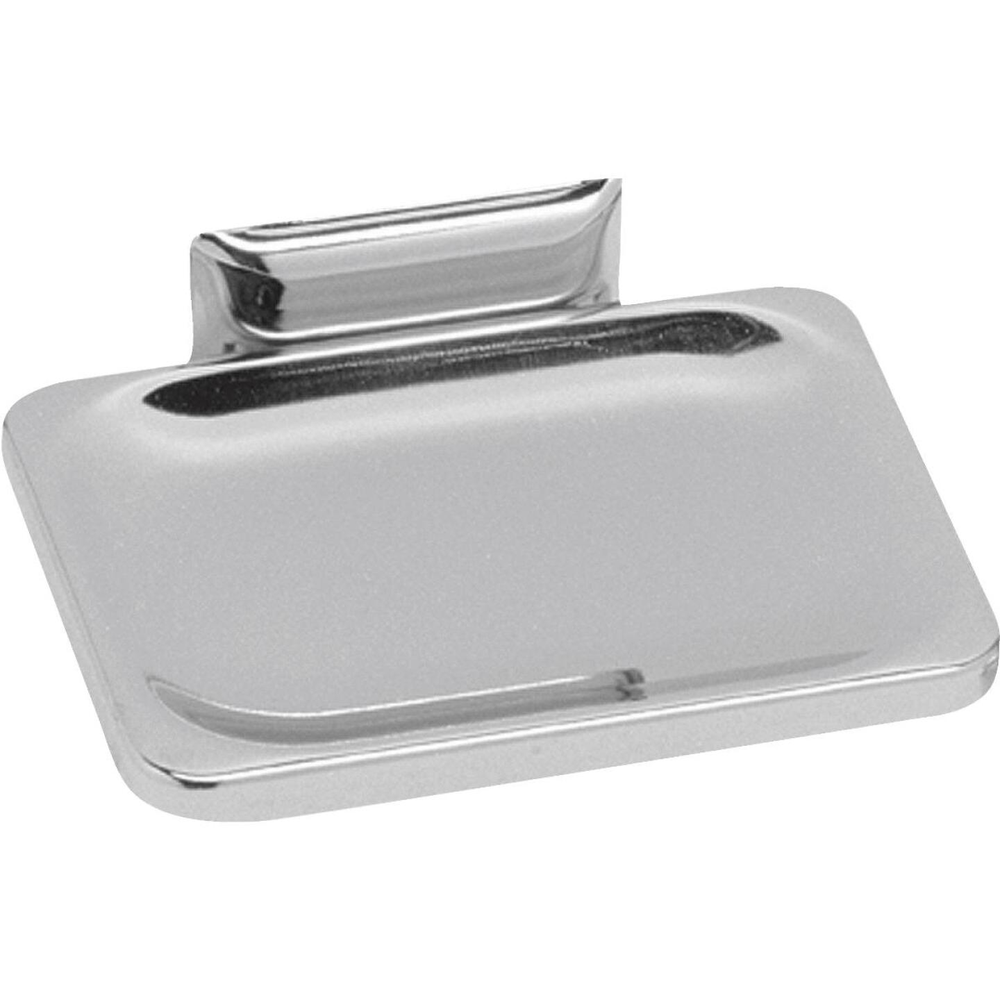 Decko Chrome Soap Dish Image 1