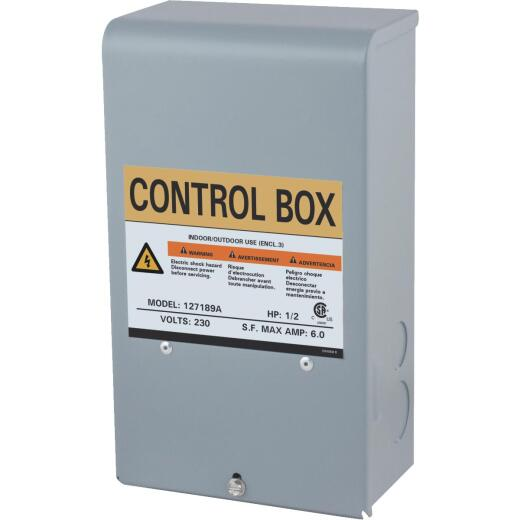 Star Water Systems 1/2 HP 230V Quick Disconnect Pump Control Box