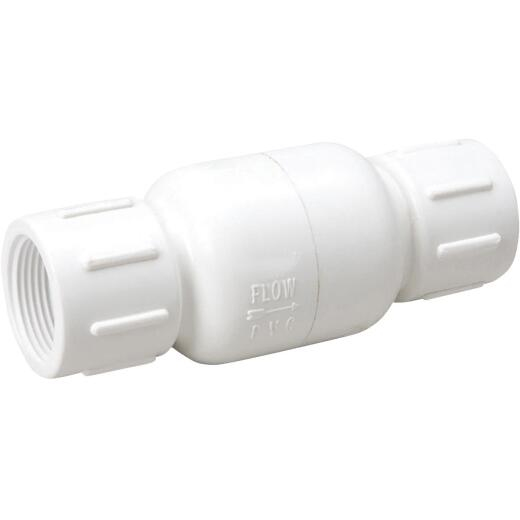 ProLine 2 In. PVC Schedule 40 Spring Loaded Check Valve
