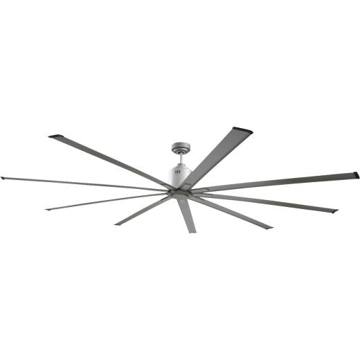 Ventamatic Big Air Industrial 96 In. Nickel Ceiling Fan