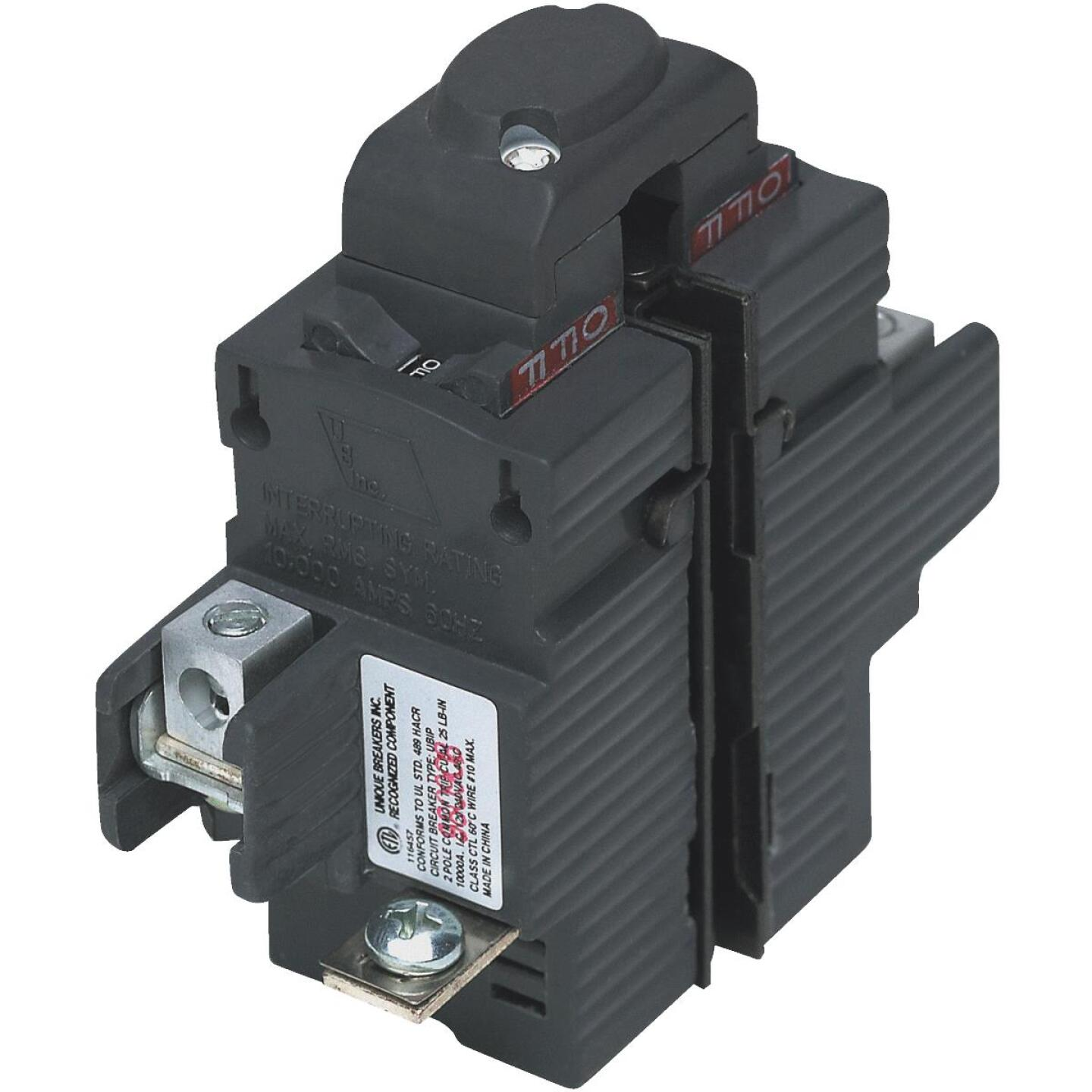 Connecticut Electric 50A Double-Pole Standard Trip Packaged Replacement Circuit Breaker For Pushmatic Image 1