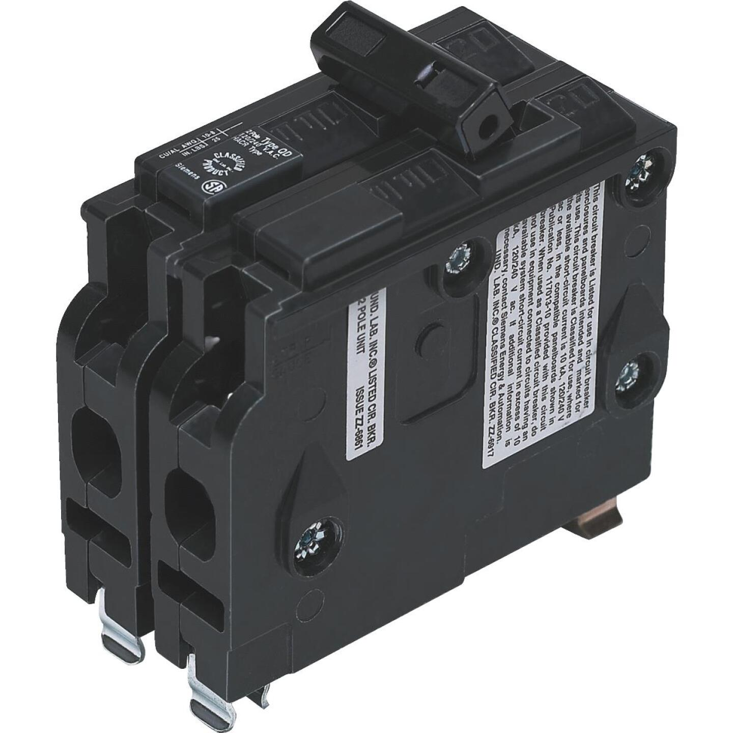 Connecticut Electric 50A Double-Pole Standard Trip Packaged Replacement Circuit Breaker For Square D Image 1