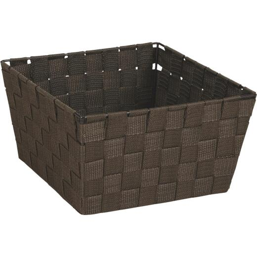 Home Impressions 9.75 In. x 5.5 In. H. Woven Storage Basket, Brown