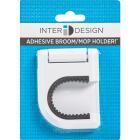 InterDesign Rubber Grip Broom Storage Hook Image 2