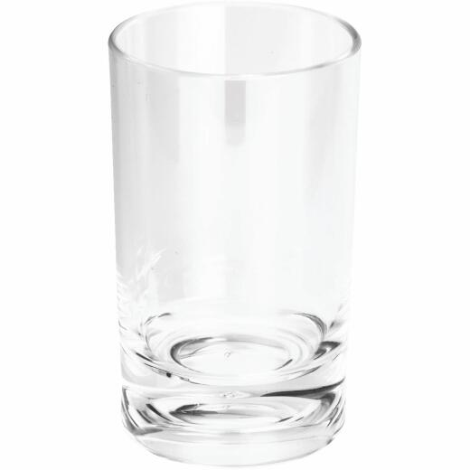 IDesign Eva Clear Acrylic Bath Tumbler