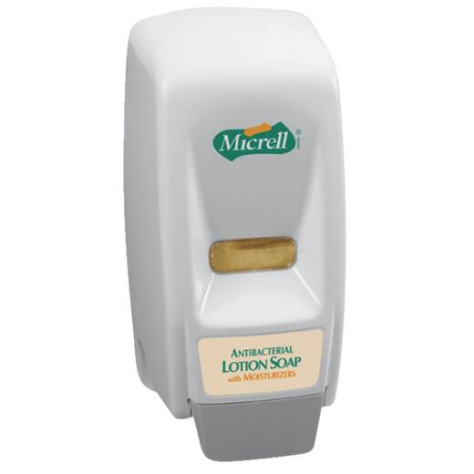 MICRELL Push-Style 800mL Bag-In-Box Soap Dispenser