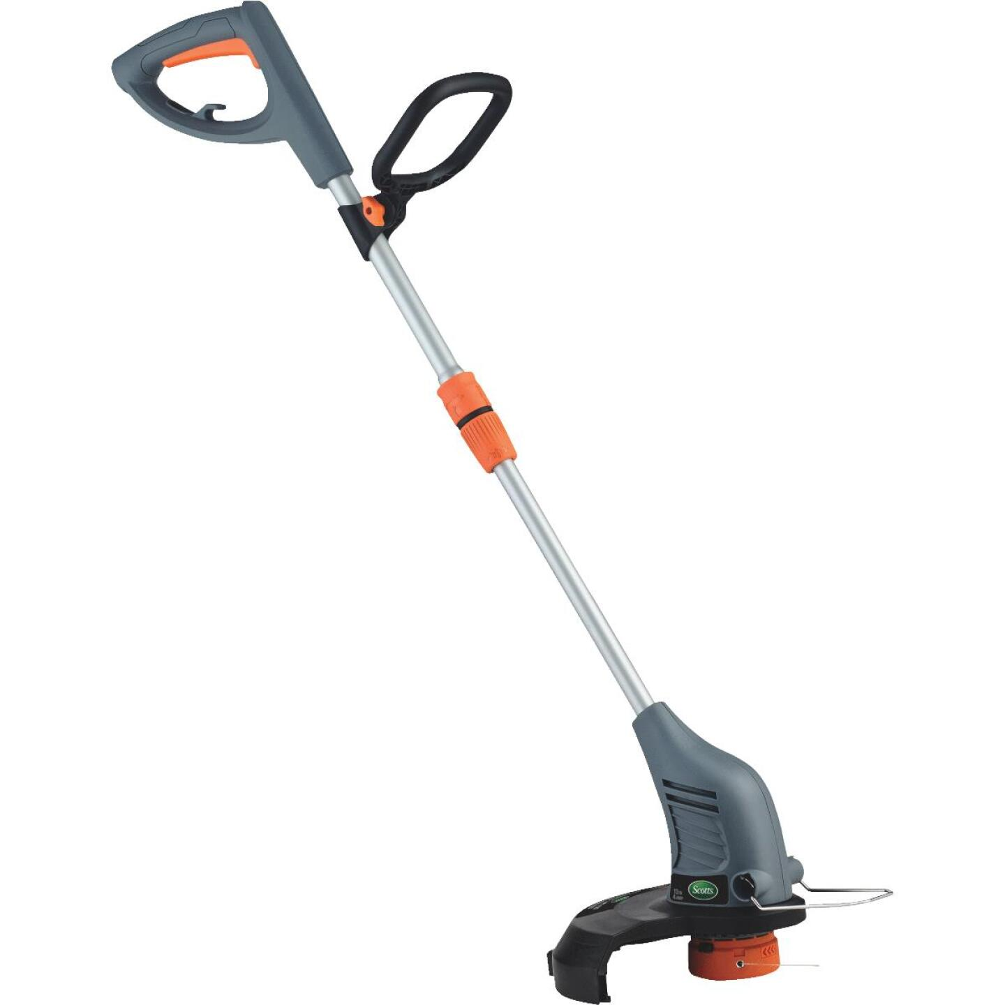 Scotts 13 In. 4 Amp Straight Shaft Corded Electric String Trimmer Image 1