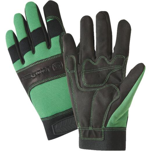West Chester John Deere Men's Large Synthetic Leather Winter Work Glove