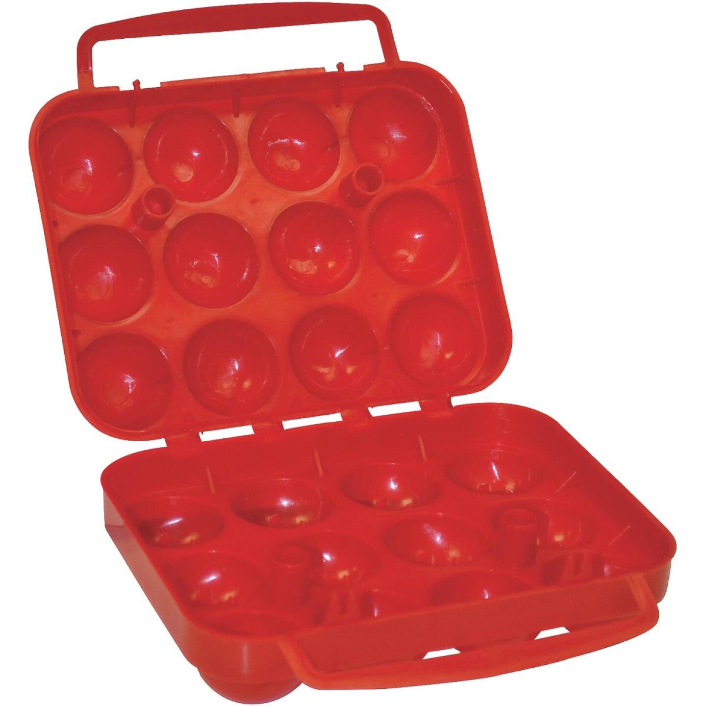 Coleman 12-Count Red Egg Container Image 1
