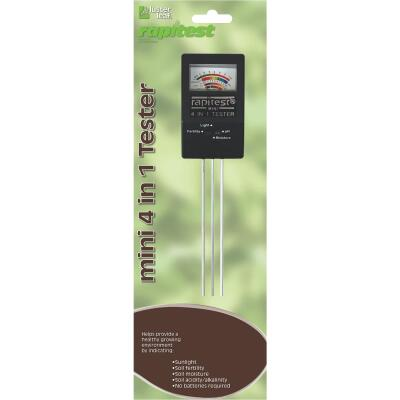 Rapitest Plastic 4-In-1 Mini Soil Tester