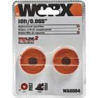 Worx 0.065 In. x (2) 10 Ft. Trimmer Line Spool (2-Pack) Image 2
