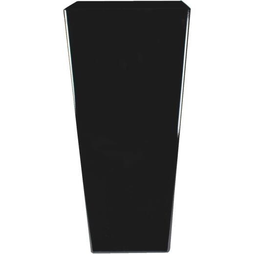 Myers Cascade 12 In. Black Onyx Square Planter