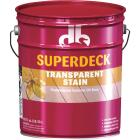 Duckback SUPERDECK VOC Transparent Exterior Stain, Cedar, 5 Gal. Image 1
