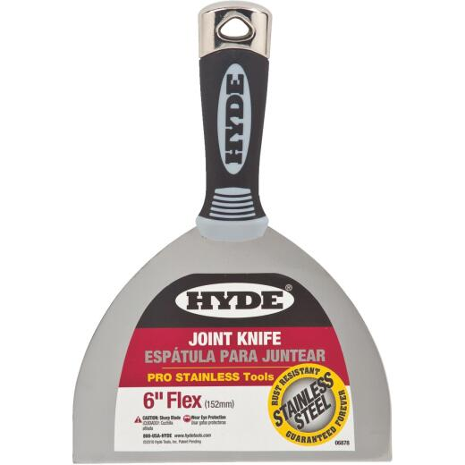 Hyde Pro Stainless 6 In. Flex Joint Knife