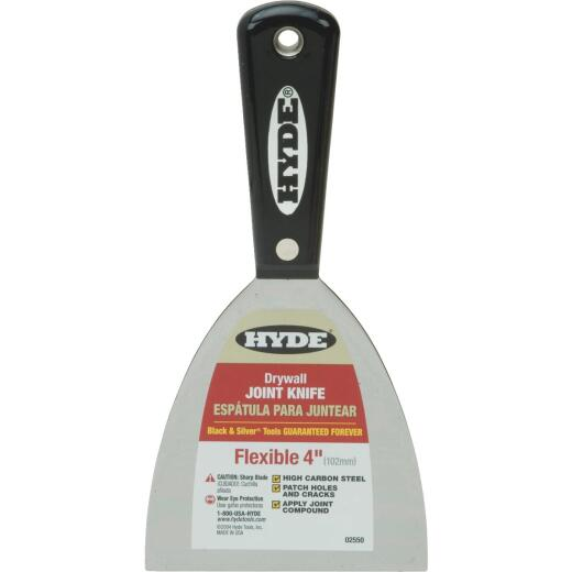 Hyde Black & Silver Professional 4 In. Flexible Joint Knife