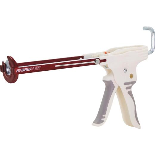 Newborn HybridTech 10 Oz. Drip-Free Hex Rod Skeleton Caulk Gun