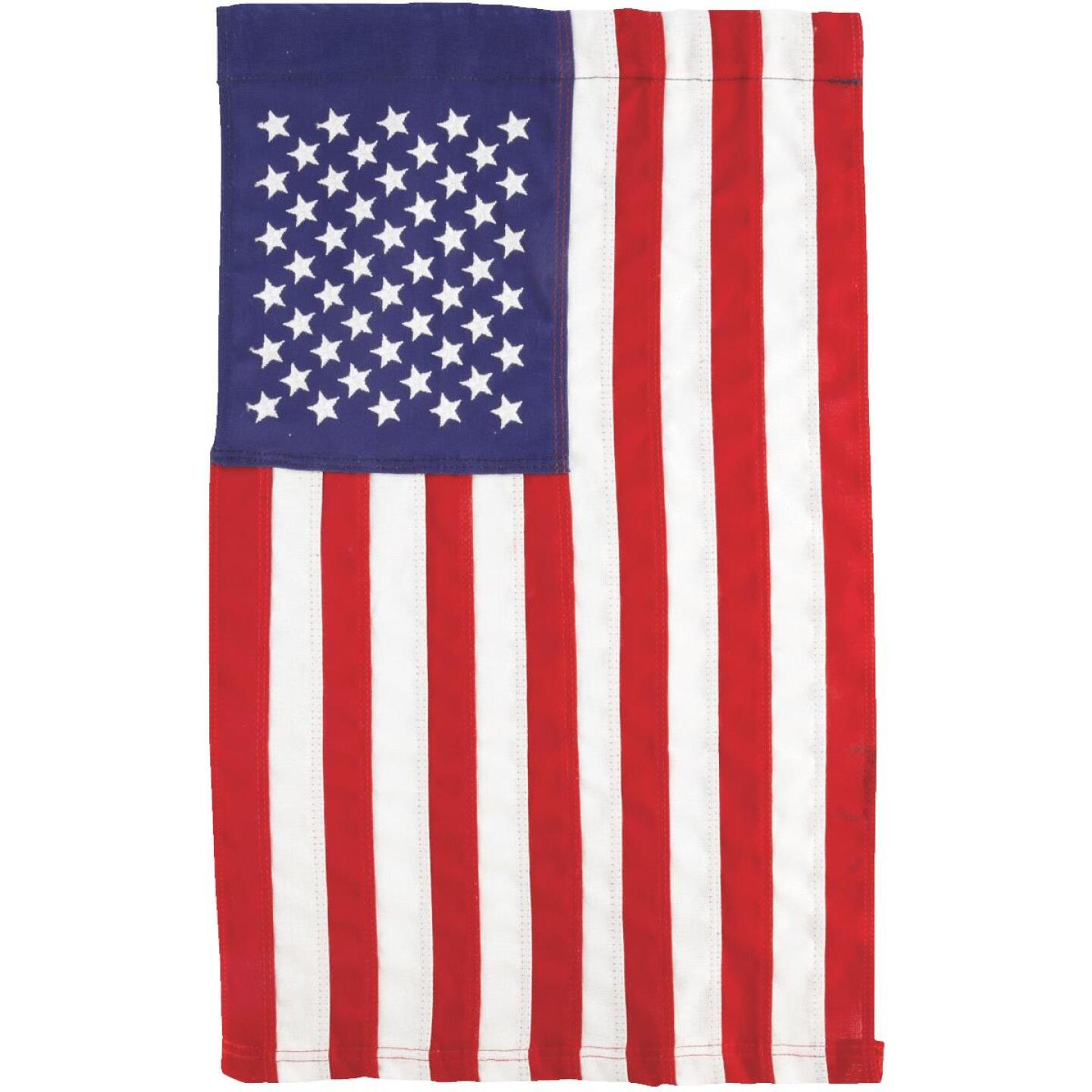 Valley Forge 1 Ft. x 1.5 Ft. Cotton Garden American Flag Image 2
