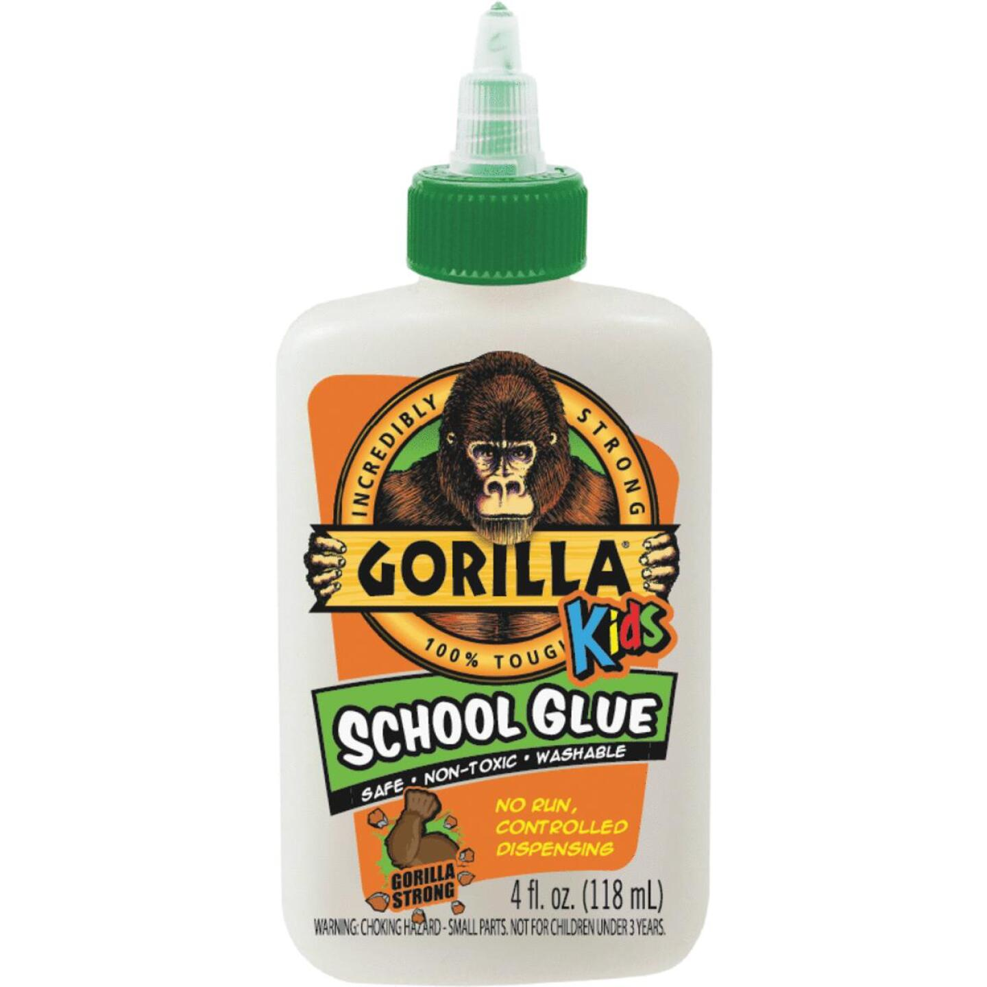 Gorilla 4 Oz. White Drying School Glue Image 1